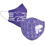 Kansas State University KSU Licensed Collegiate Face Mask