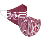 Mississippi State University MSU Licensed Collegiate Face Mask