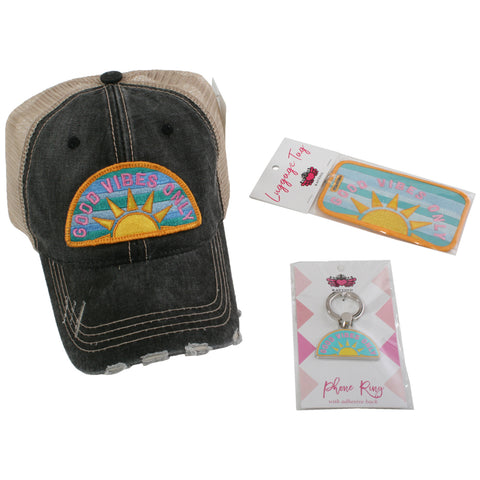 Katydid Weekend Bundle (Hat + Clutch Bag + Luggage Tag)