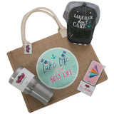 Katydid Lake Life Bundle (Hat + Tote Bag + Tumbler + Luggage Tag)