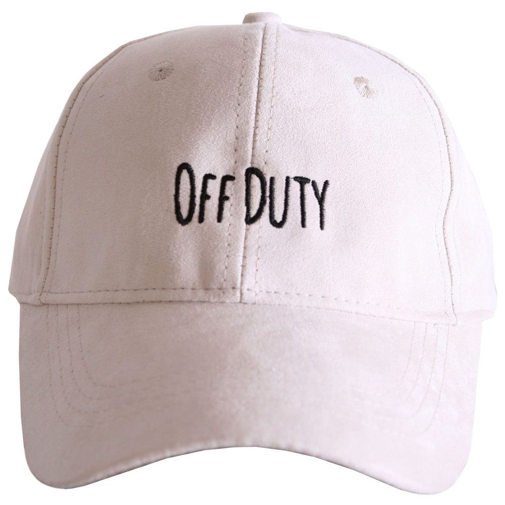 Off Duty ULTRA SUEDE Baseball Cap - Katydid.com