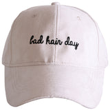 Bad Hair Day ULTRA SUEDE Baseball Cap - Katydid.com