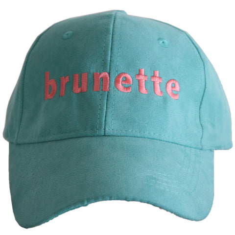 Blonde ULTRA SUEDE Baseball Cap
