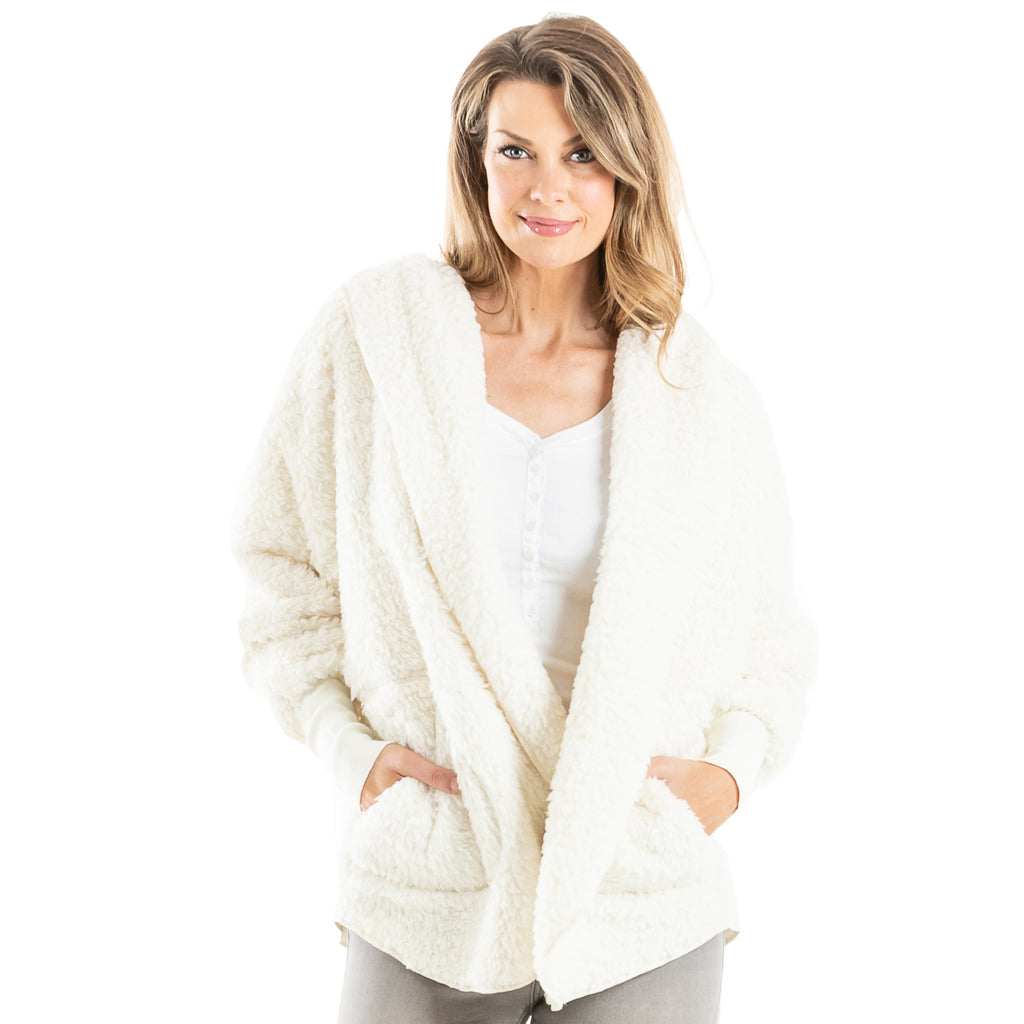 Sherpa Body Wrap/Cardigan for Women Hoodie (7 colors)
