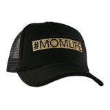 #MomLife Glitter Trucker Hat in Black, Maroon, or Navy - Katydid.com