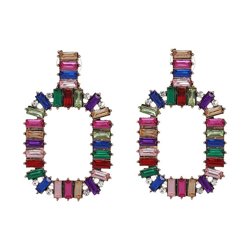 Katydid Multicolor Rectangle Drop Earrings - Katydid.com