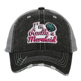 Katydid I'm Really A Mermaid KIDS Hats - Katydid.com