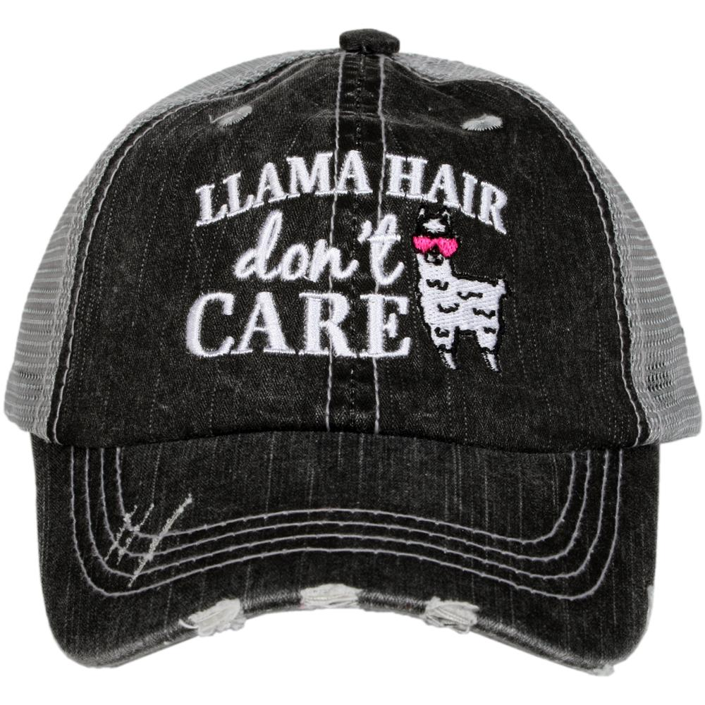 Katydid Llama Hair Don't Care KIDS Hats - Katydid.com