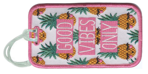Good Vibes SUNSHINE Luggage Tags