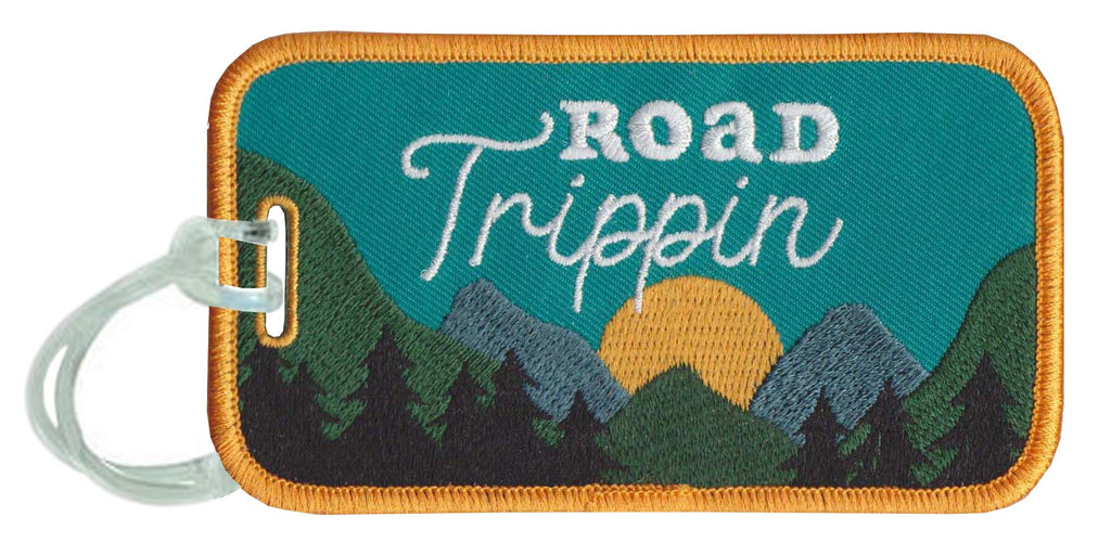 Road Trippin Luggage Tags