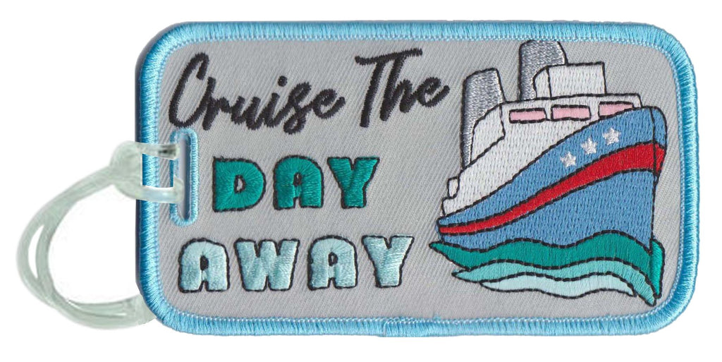 Cruise the Day Away Luggage Tags - Katydid.com