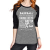 Peanuts and Cracker Jacks Raglan T-Shirt - Katydid.com