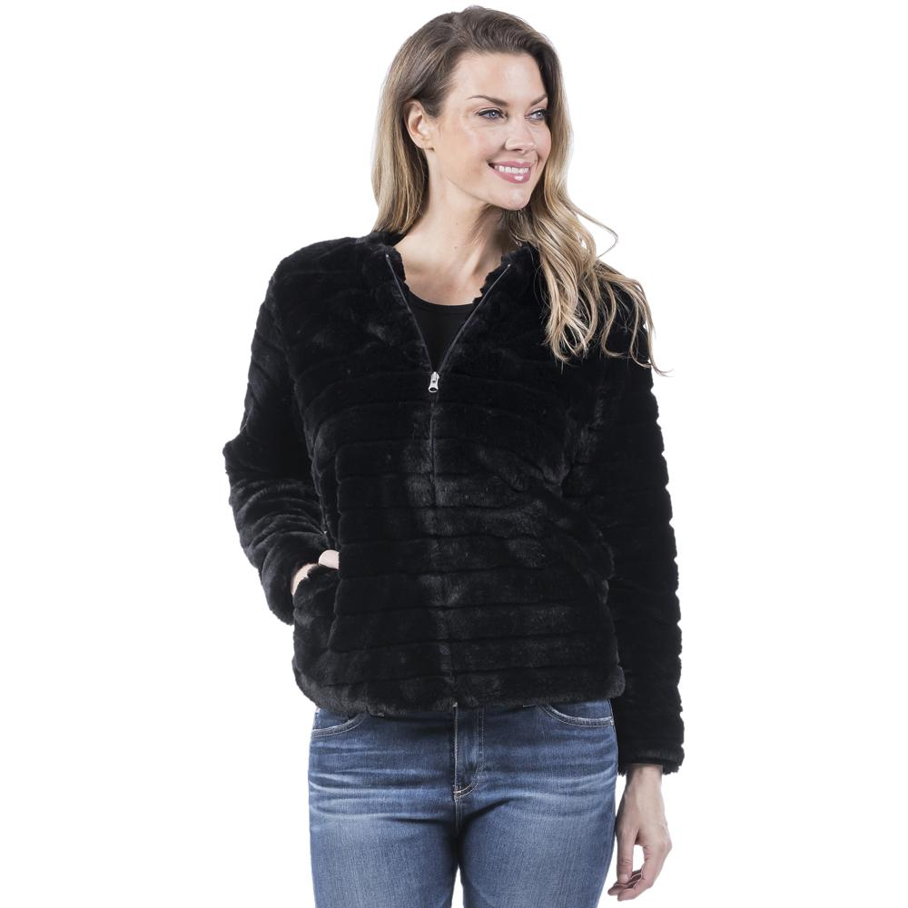 Katydid  FAUX RABBIT JACKET for Women - Katydid.com