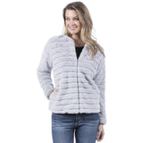 Katydid  FAUX RABBIT JACKET for Women