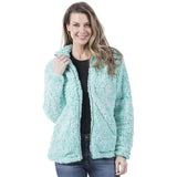 Teal Wholesale Sherpa JACKET for Women