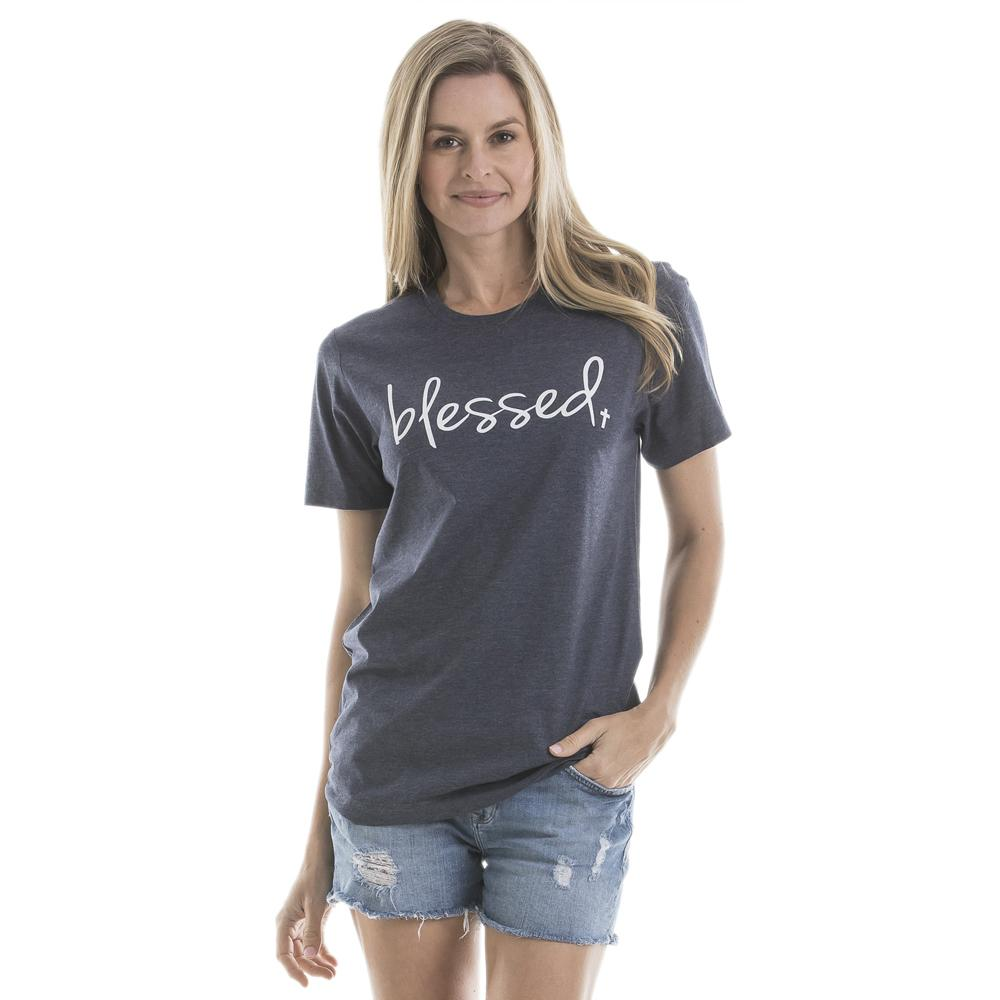 Blessed T-Shirts For Women - Katydid.com