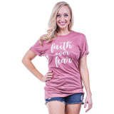 Katydid Faith Over Fear T-Shirts - Katydid.com