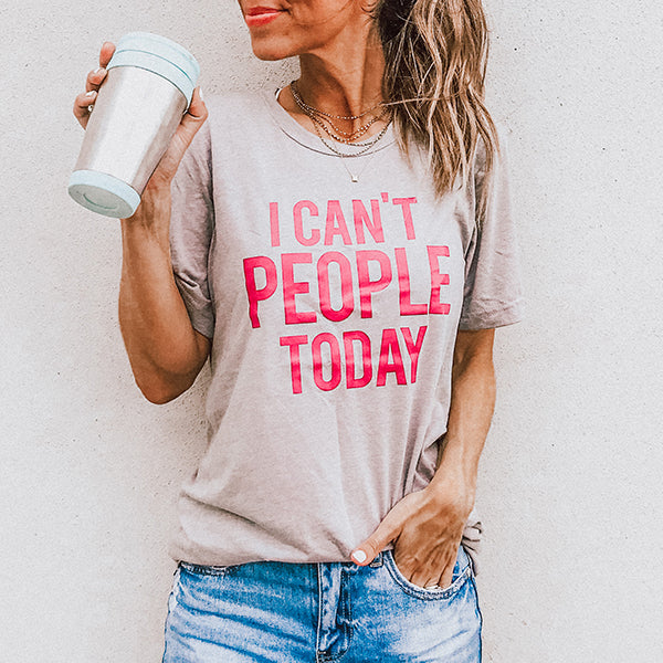 Katydid I Can't People Today T-Shirts