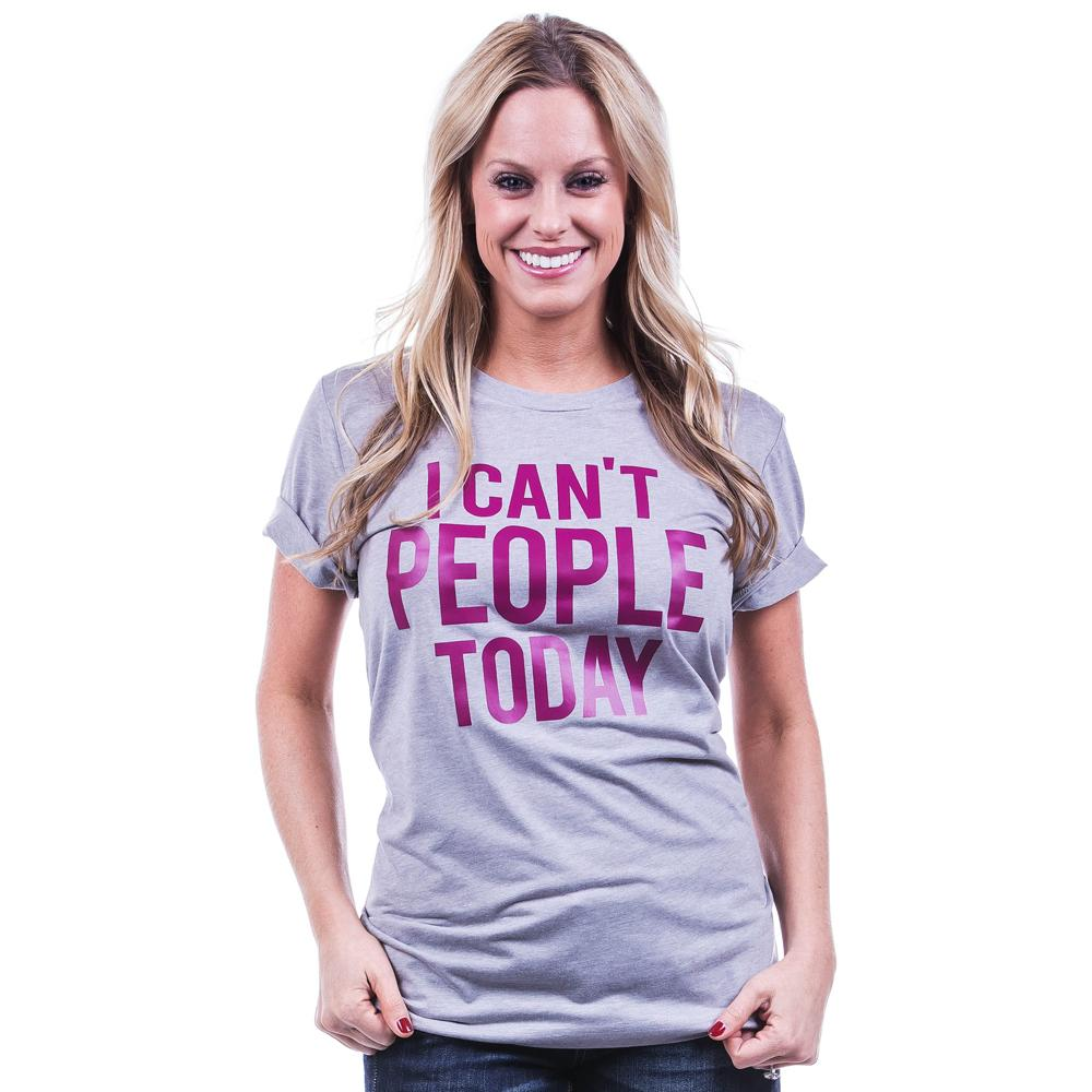 Katydid I Can't People Today T-Shirts - Katydid.com