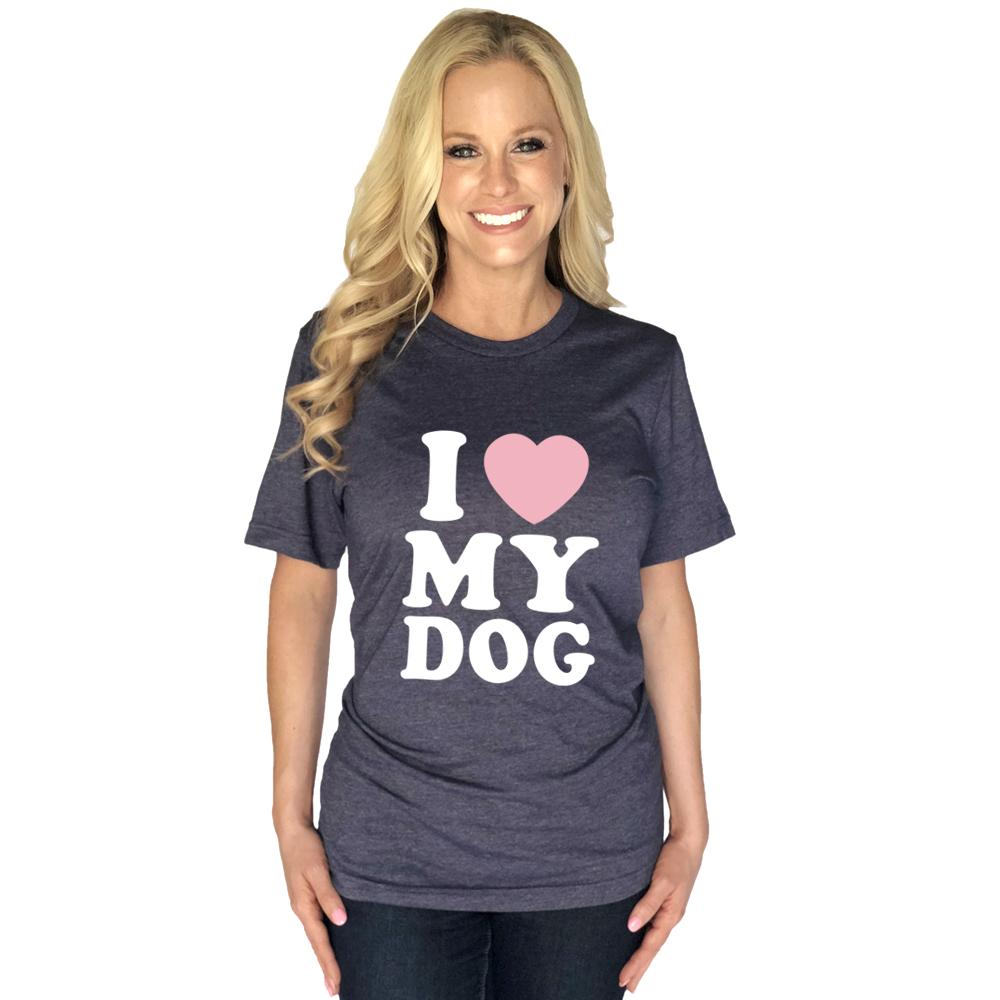 Katydid I Love My Dog T-Shirts - Katydid.com