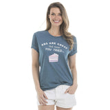 Katydid Abs are Great/Tried Cake T-Shirts - Katydid.com