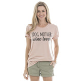 Katydid Dog Mother Wine Lover T-Shirts - Katydid.com