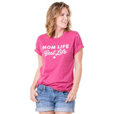 Katydid Mom Life Best Life Graphic T-Shirts - Katydid.com