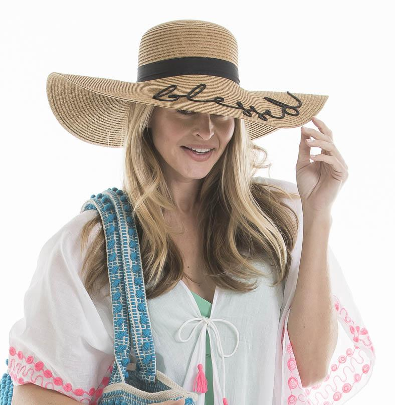 Katydid Blessed Sun Hats for Women - Katydid.com