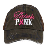 Think Pink Trucker Hat - Katydid.com