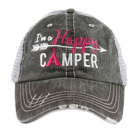 Katydid Mountain Life Trucker Hats