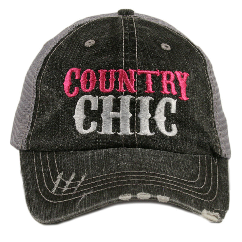 Country Chic Trucker Hat - Katydid.com