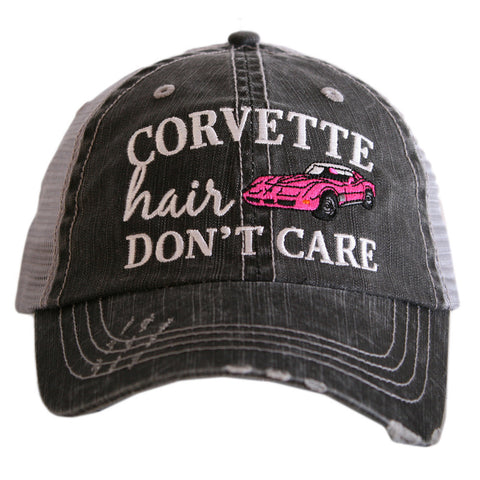 River Hair Don't Care Glitter Trucker Hat