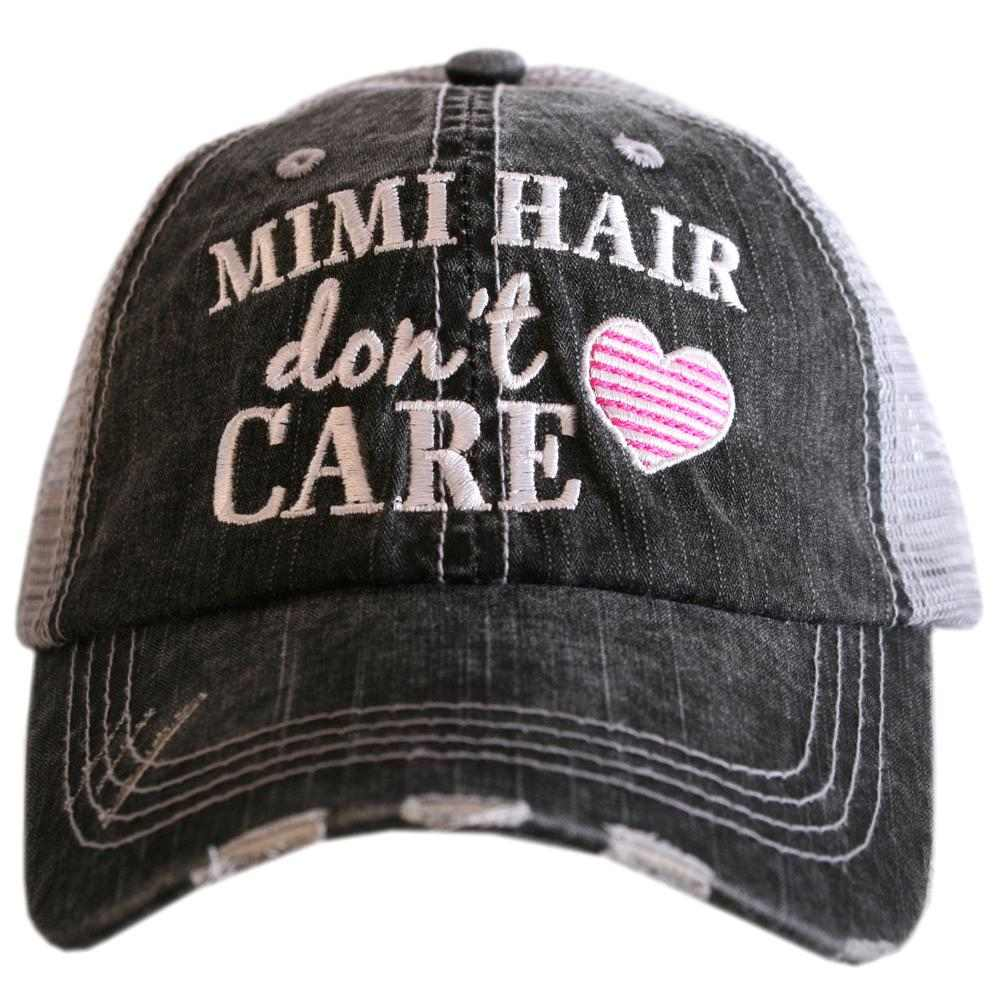 Mimi Hair Don't Care Trucker Hat - Katydid.com