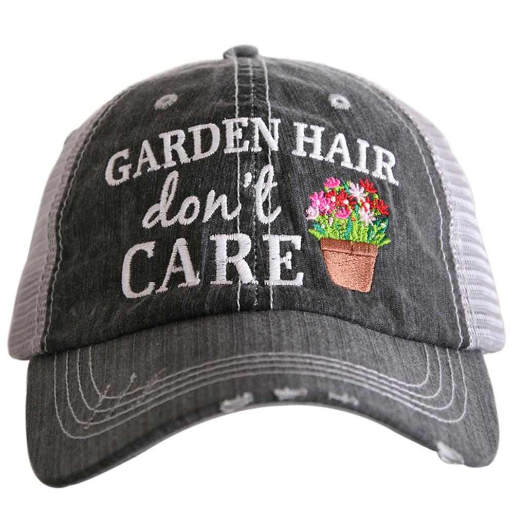 Garden Hair Don't Care Trucker Hat - Katydid.com