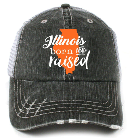 "Alabama ""Born & Raised"" Trucker Hat"