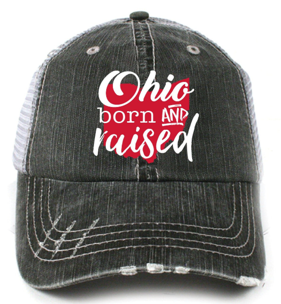Katydid Ohio Born and Raised Trucker Hats - Katydid.com
