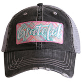 Grateful (PASTEL PATCH) Trucker Hat - Katydid.com