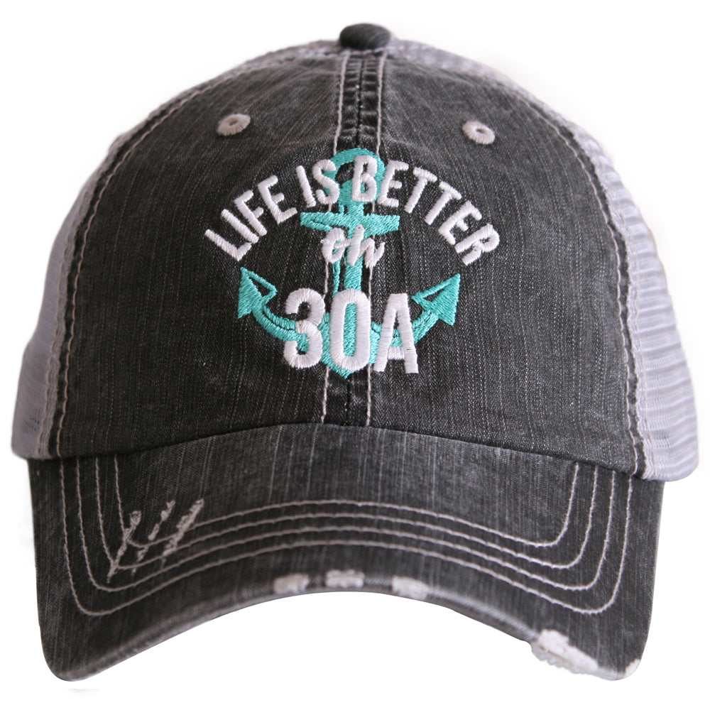 Life is Better on 30A Trucker Hat - Katydid.com