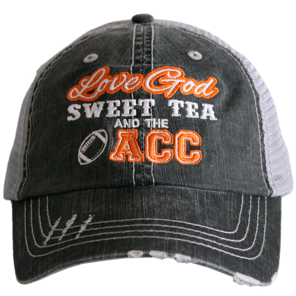 Love God Sweet Tea and the AAC Trucker Hat - Katydid.com