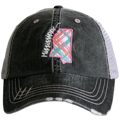 Katydid Farm Hair Don't Care Trucker Hats
