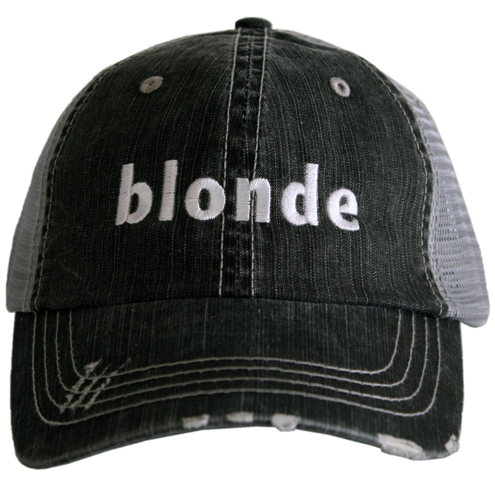 BLONDE Trucker Hat - Katydid.com