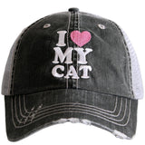 Katydid I Love My Cat Trucker Hats - Katydid.com