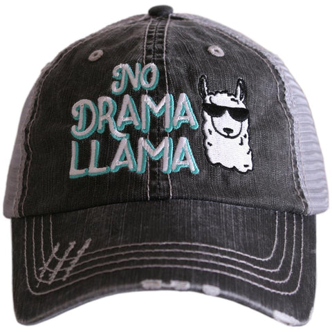 Katydid Don't Mess with Mama Women's Trucker Hats