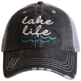 Lake Life (WAVES) Women's Trucker Hat - Katydid.com