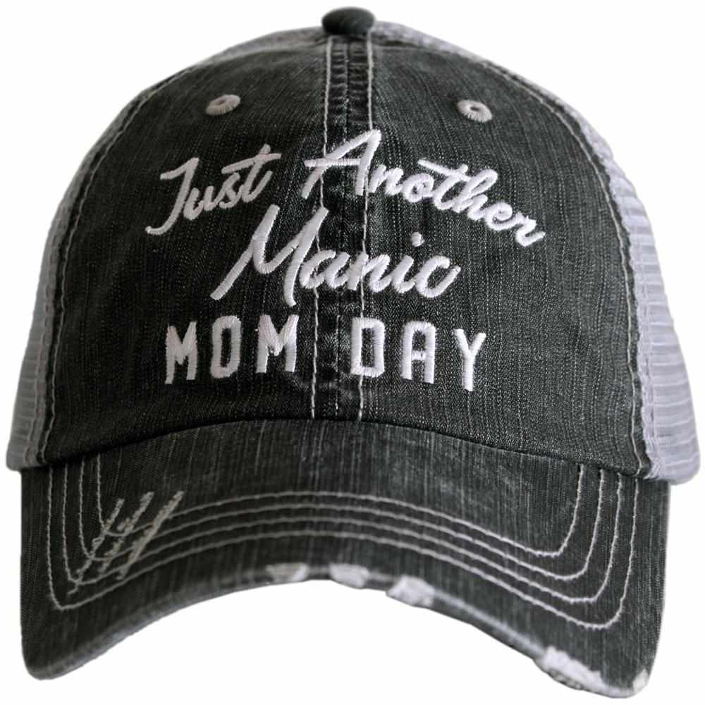 Just Another Manic Mom Day Trucker Hats