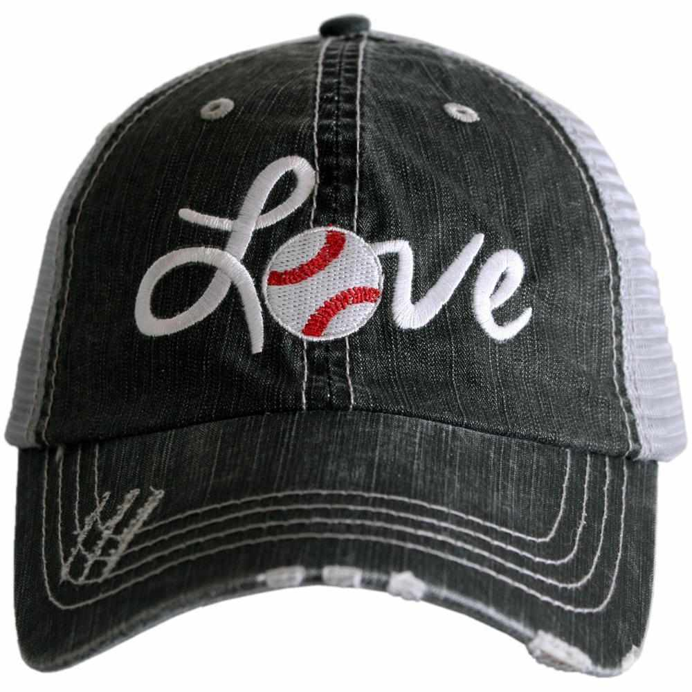 Katydid Love Baseball Trucker Hats