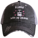 Katydid Llama With No Drama Trucker Hats - Katydid.com