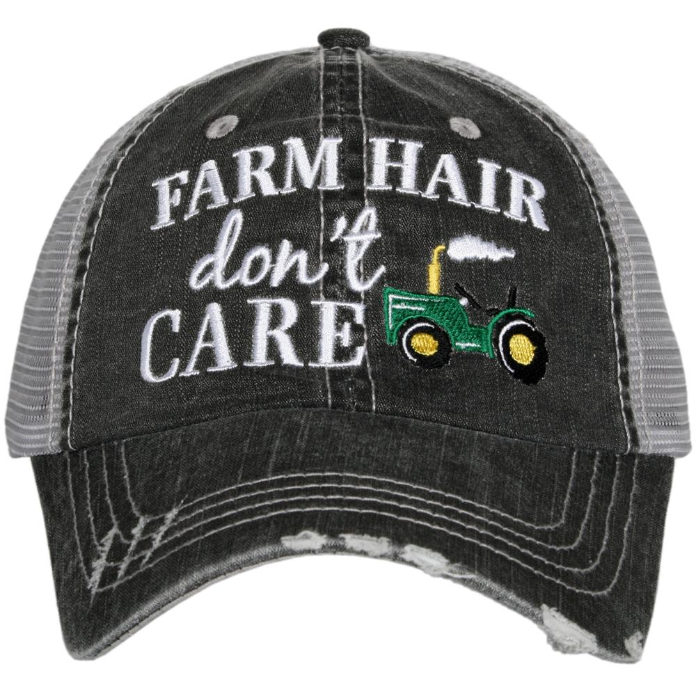 Katydid Farm Hair Don't Care Trucker Hats - Katydid.com
