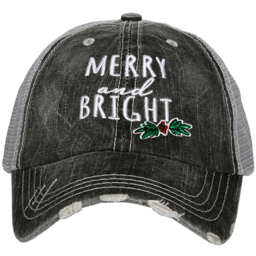 Merry and Bright Trucker Hat
