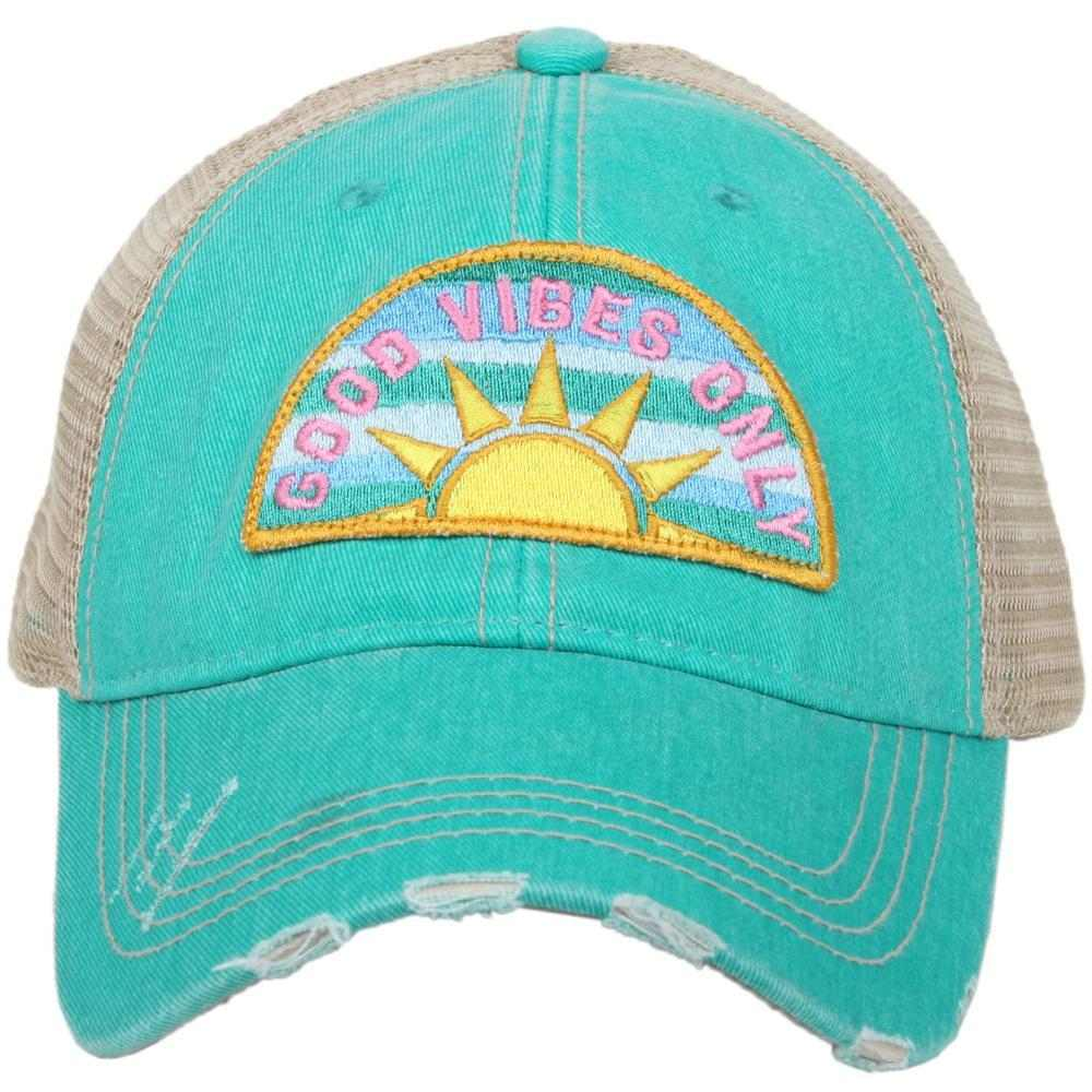 Katydid Good Vibes Only Women's Trucker Hats - Katydid.com